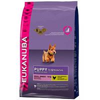 Корм для собак EUKANUBA Puppy Small Breed 7,5 кг для щенков мелких пород