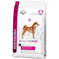 Корм для собак EUKANUBA Daily Care Sensitive Digestion 12,5 кг при чутливому травлені