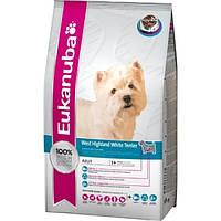 Корм для собак EUKANUBA West Highland White Terrier 7,5 кг для породы вест-хайланд-терьер