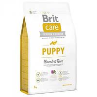 Корм для собак BRIT CARE PUPPY ALL BREED 12 кг для цуценят всіх порід з ягням і рисом