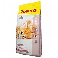 Корм для котів (Джозера) Josera Minette 10 кг - для кошенят
