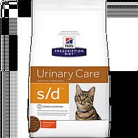 Корм для котів (Хілс) Hill's Hills Prescription Diet Feline s/d 5 кг - для розчинення струвитних уролітів