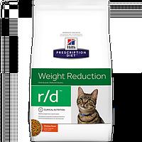 Корм для котів (Хілс) Hill's Hills Prescription Diet Feline r/d 5 кг - для зниження зайвої ваги