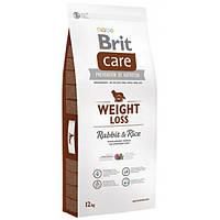 Корм для собак Brit Care Weight Loss Rabbit Rice 12 кг при надмірній вазі з кроликом та рисом