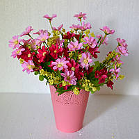Букет ромашек (розовый)