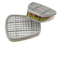3M™ 6075 - фильтр для масок и полумасок, защита от газа и пара A1 + формальдегид, 1 шт.