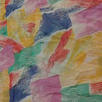 Натуральный шелк крепдешин мерный лоскут набор на блузу80 смХ140 см и 30Х70 цена за набор 120 грн/////