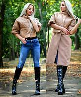 Куртка-пальто трансформер женская