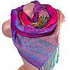 Красочный женский двусторонний палантин из пашмины 176 на 70 см ETERNO ES0206-22-5 разноцветный