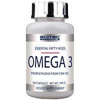 Scitec Nutrition Ненасыщенные жирные кислоты Scitec Nutrition Omega 3, 100 капс.