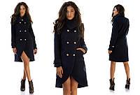 Женское демисезонное пальто-фрак