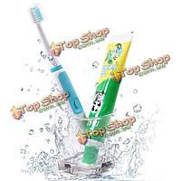 Интеллектуальные водонепроницаемый портативная ультразвуковая электронная зубная щетка