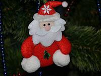 """Новогоднее украшение Дед мороз """"большие ножки"""" 0316"""