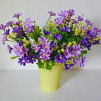 Букет ромашек (фиолетовый)