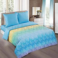 """Двухспальный комплект постельного белья """"Голубая лазурь"""