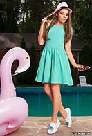 Платье с вырезом в виде сердечка М95 в расцветках