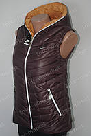 Женская спортивная жилетка   безрукавка NIKE  на синтепоне
