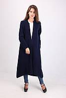 Длинное пальто трапецевидного фасона, фото 1