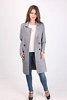 Классическое серое пальто, фото 1