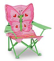"""Раскладной детский стульчик """"Бабочка Белла"""", Melissa&Doug"""