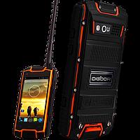 DIGOOR DG1, IP-68, Рация, 3200 мАч, GPS, 3G, 4 ядра. Защищенный телефон для экстрима!