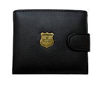 Кошелёк мужской сделанный из PU кожи. Качественный портмоне. Удобный и вместительный кошелек. Код: КДН619