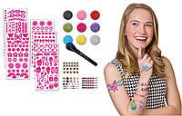 Набор блестящие тату для тела с камнями из США Fashion Angels Body Glitter Kit