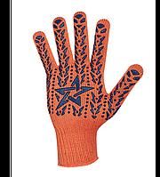 Перчатки Doloni Звезда оранжевые