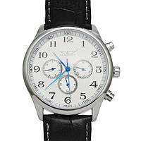 Мужские часы JARAGAR(ярагар) Elite. Белые. ОРИГИНАЛ!