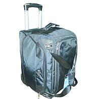 Дорожная сумка-трансформер на силиконовых колёсах
