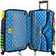 Большой пластиковый 4-колесный чемодан 101 л. Heys Britto Butterfly (L) 923092, разноцветный, фото 3