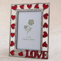 """Рамки для фотографий """"Love"""" подарки на День Рождения (15*20, ф - 10*15 см)"""