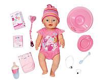 Интерактивная кукла пупс девочка Беби борн НОВИНКА 2016 оригинальный Zapf Creation Baby Born Doll