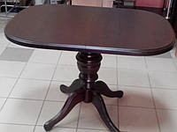 Стол обеденный раскладной дерево. Средний