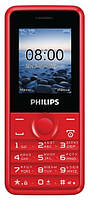 Мобильный телефон PHILIPS E103 Xenium Red, фото 1