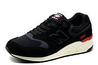 Кроссовки New Balance 999, мужские, замша, черные, р. 41 43 44 45 46