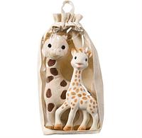 """Подарочный набор """"Жираф Софи и мягкая игрушка"""", Vulli"""