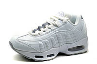 Кроссовки Nike Airmax, унисекс, белые, р. 36 38 41, фото 1