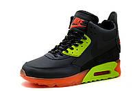 Кроссовки высокие Nike Airmax, мужские, черные, р. 41 42 43 44, фото 1