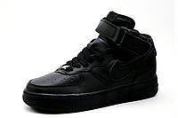 Кроссовки унисекс Nike Air Max, высокие, черные, р. 38