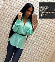 Блуза с длинным рукавом на пуговичках