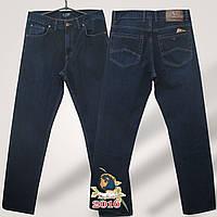 Джинсы мужские прямые бренд Армани тёмно-синего цвета