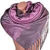 Прекрасный женский двусторонний палантин из пашмины 176 на 71 см ETERNO ES0406-10-11 розовый
