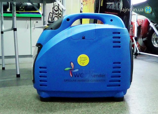 Инверторный генератор Weekender 1500i фото 1