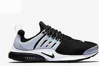 Кроссовки мужские Nike Air Presto (найк аир престо, оригинал) черные