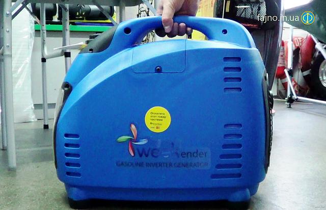 Weekender 1500i инверторный генератор фото 6