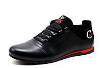 Туфли Cuddos, спортивные, мужские, натуральная кожа, черные, р. 40 41 42 43 44 45