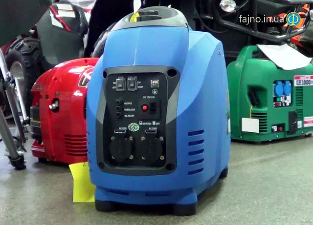 Инверторный генератор Weekender 1800i панель