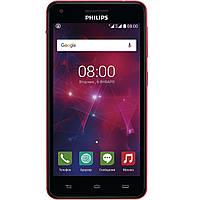 Мобильный телефон Philips V377 Black-Red, фото 1