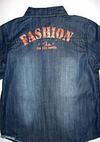 Джинсовые рубашки для мальчиков р.134-164 (арт.41820)